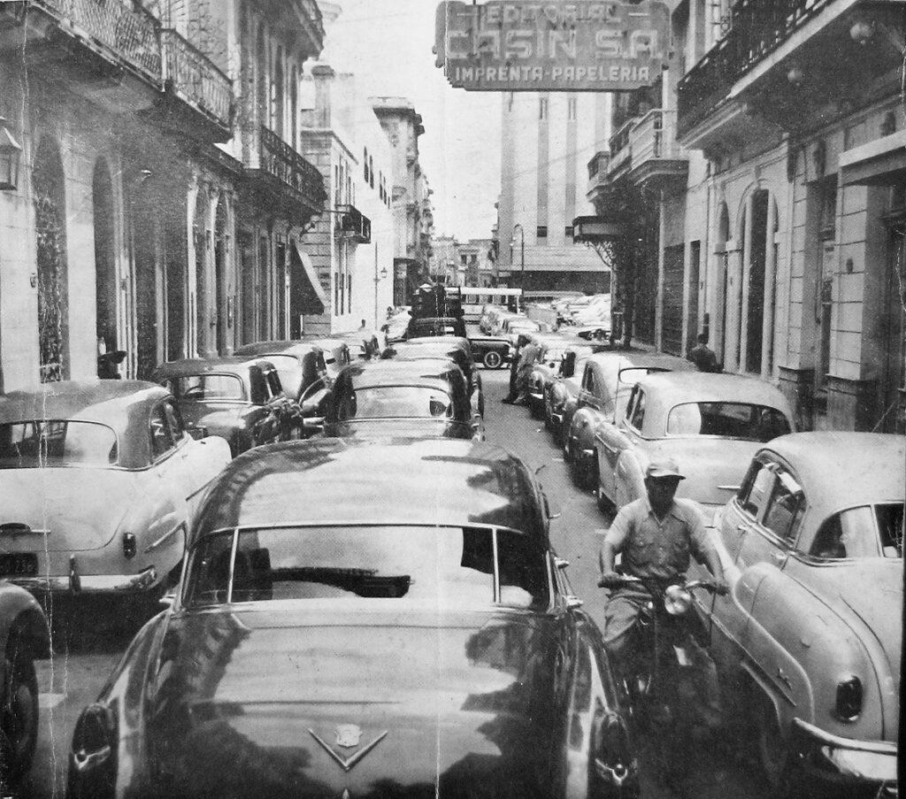 automoviles en la calle concordia la habana