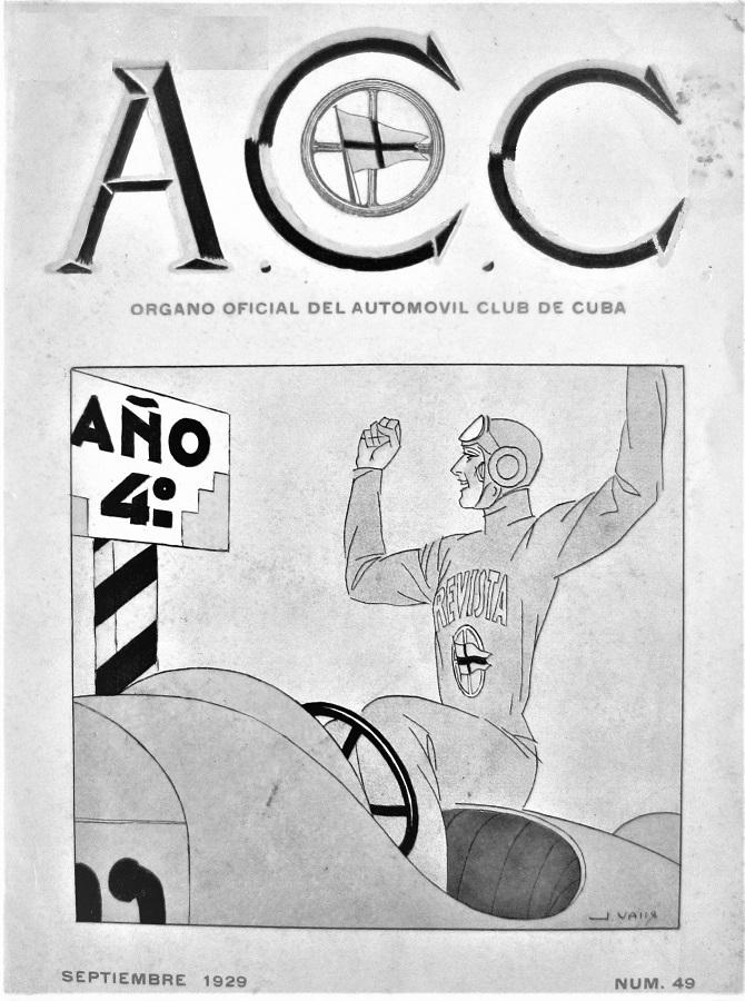 revista acc-organo oficial del automovil club de cuba